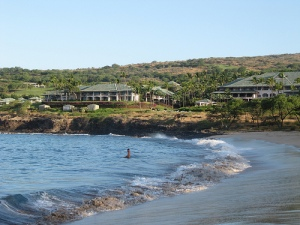 Melanie Waldman's photo of Manele Bay, Lanai, Hawaii